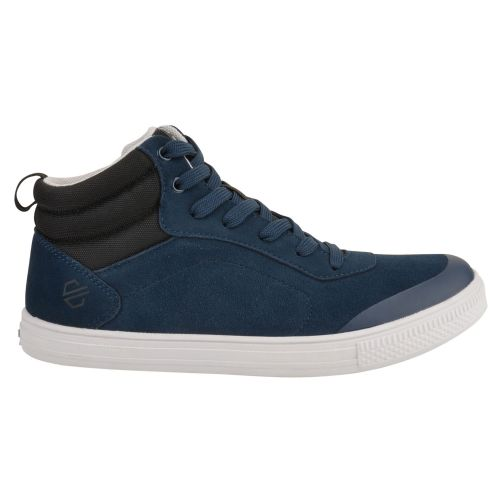 Women's Cylo High Top Suede Trainers - Blue Wing